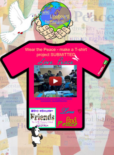 Project submitted: etwinning, pease, project, t-shirt | Glogster EDU - 21st century multimedia tool for educators, teachers and students