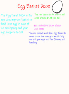 Egg Basket 3000