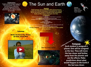 Sun and Earth TPACK Project