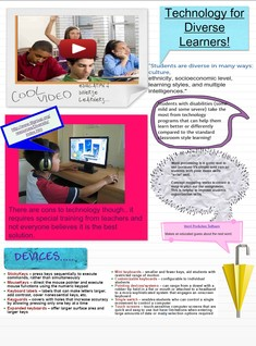 Technology for Diverse Learners - Adrianna Styer