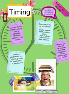 Timing: Instructional Delivery