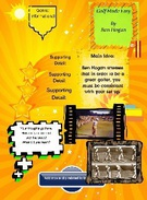 Fiction Book Report Template's thumbnail