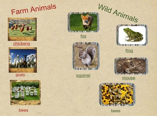 Rosie's Walk: Farm & Wild Animals