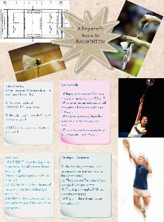 A Guide to Badminton