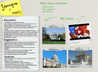 Separation of Powers- Government