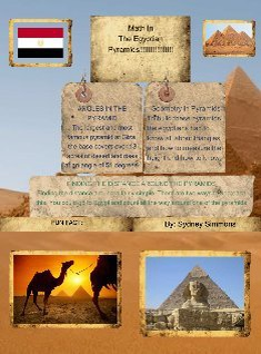 Math in the egyptian pyramids