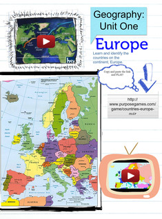Geography: Unit One: Europe