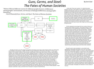 Guns, Germs, and Steel 2