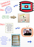 Fractions on a Number Line! Pg. 1's thumbnail