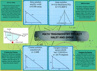 Math trigonomitry project