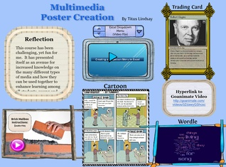 Multimedia Poster Creation