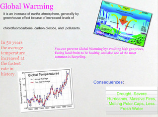 Global Warming Project Dunn 3rd