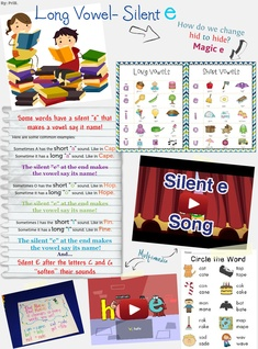 Long vowel - silent e