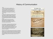 The History of Communication maddy schelling's thumbnail