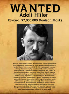 Hitler's Wanted!