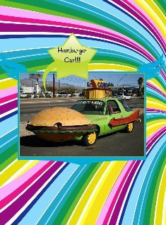 Hamburger Car