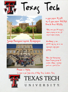 Texas Tech Glogster