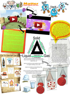 Solid, LIquid Gas