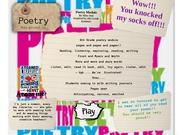 Poetry Miss Seel's thumbnail
