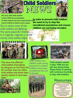 Child Soliders News
