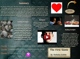 [2015] Nicholas Stabile: The First Stone