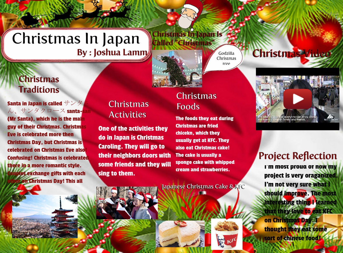 [2015] Joshua Lamm: Christmas in Japan