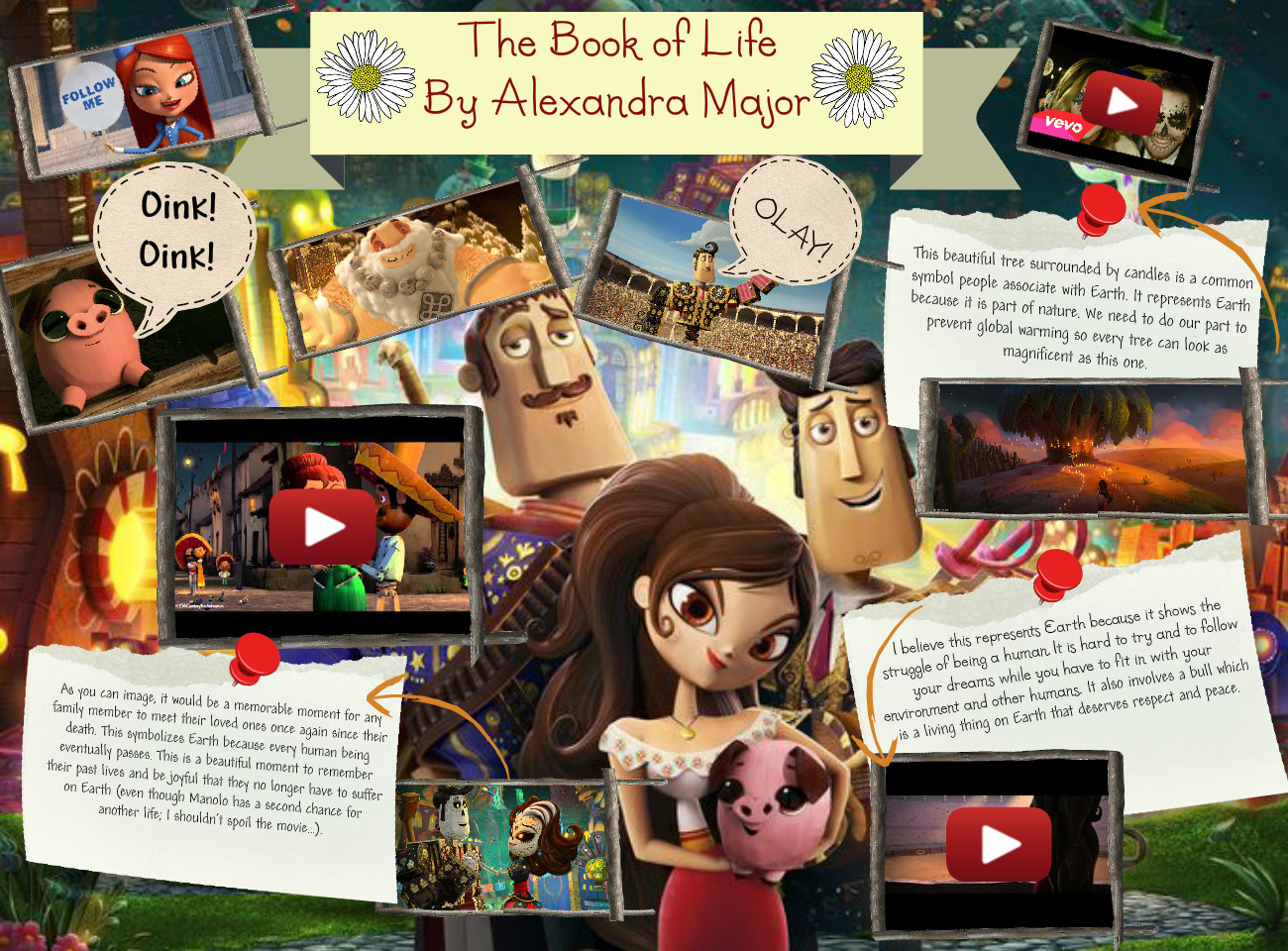 [2015] Alexandra Major (2nd Pd. Spanish I 15-16): The Book of Life