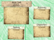 Book Report Template 1's thumbnail