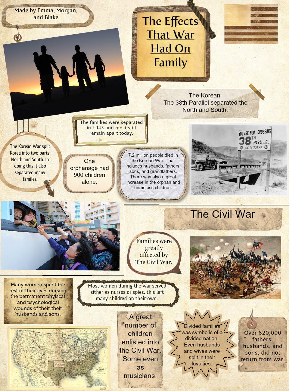 How War Affected Families