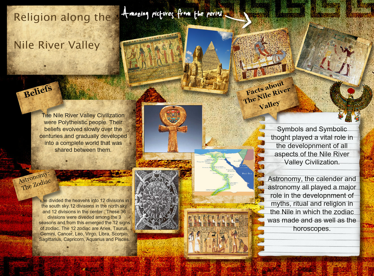 Religion along the Nile River Valley