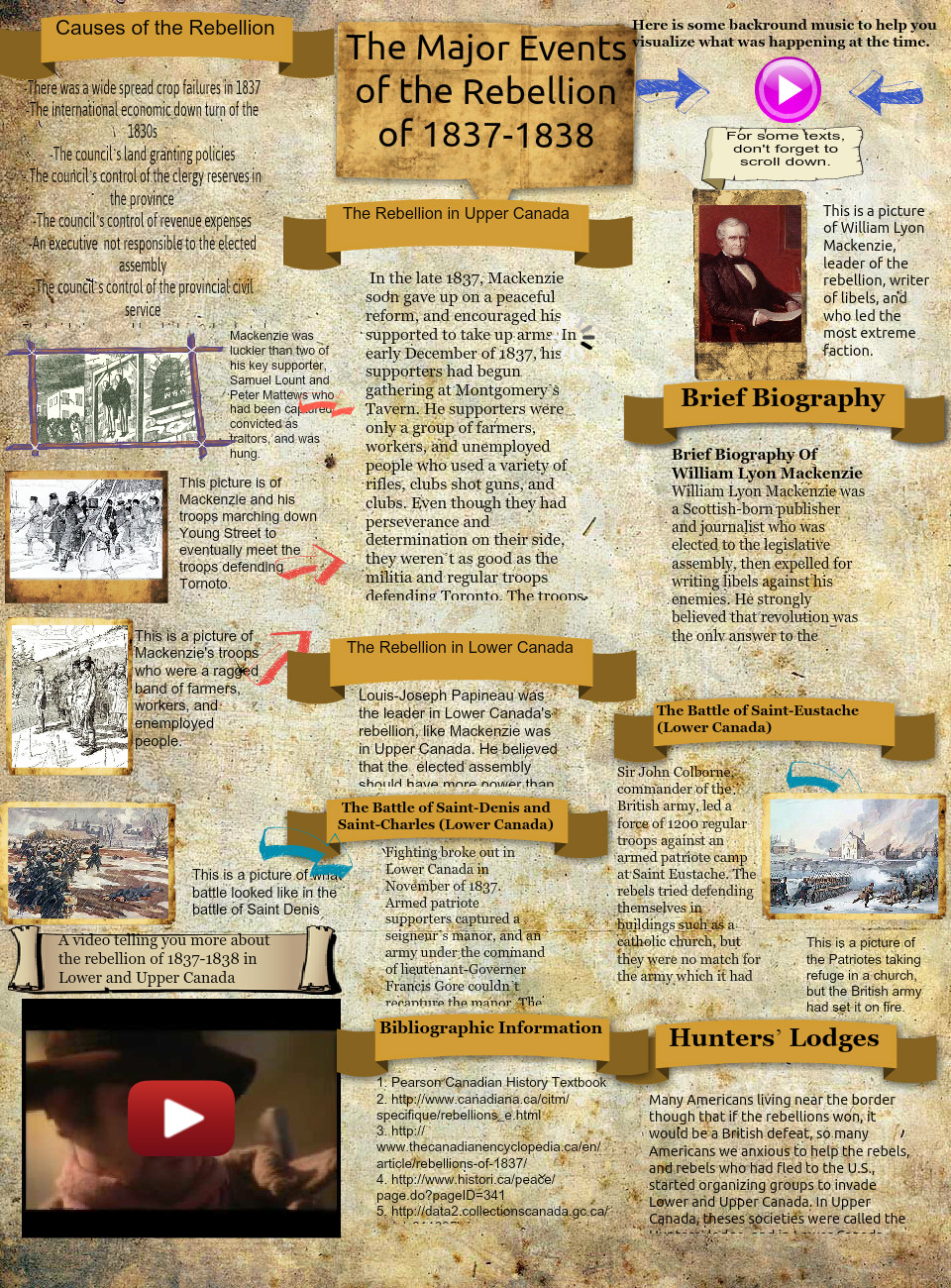 The Major Events of the Rebellion By: Valerie Live Tan