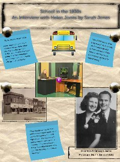Oral History Project Sample