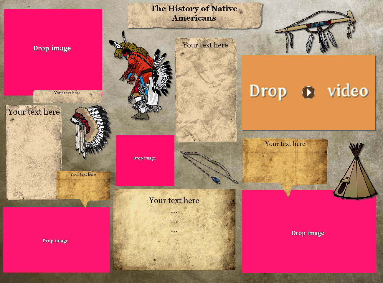 Native Americans Project