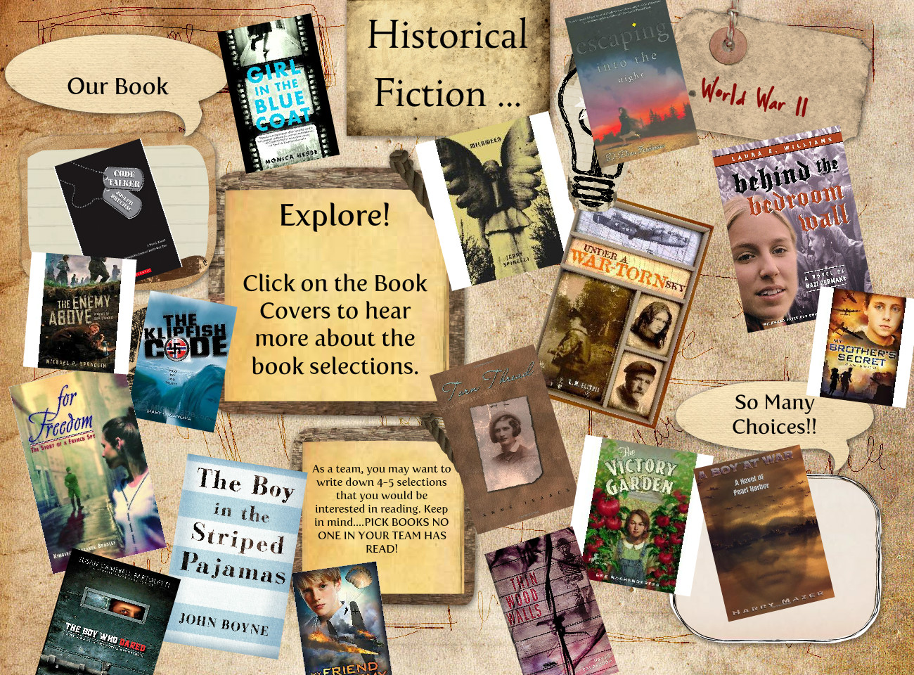 Historical Fiction Book Preview