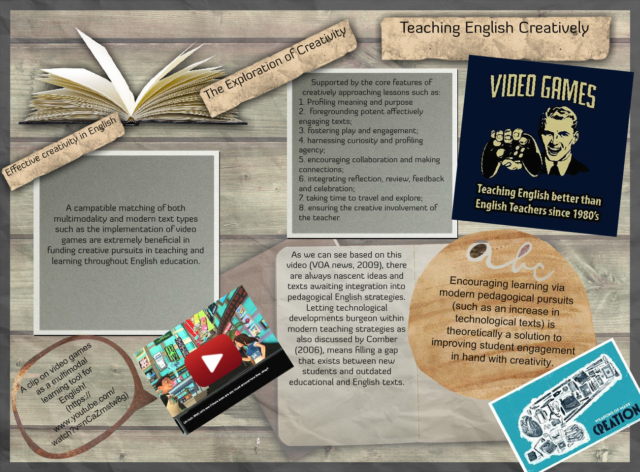 teaching english creatively
