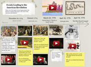 Events Leading to American Revolution' thumbnail