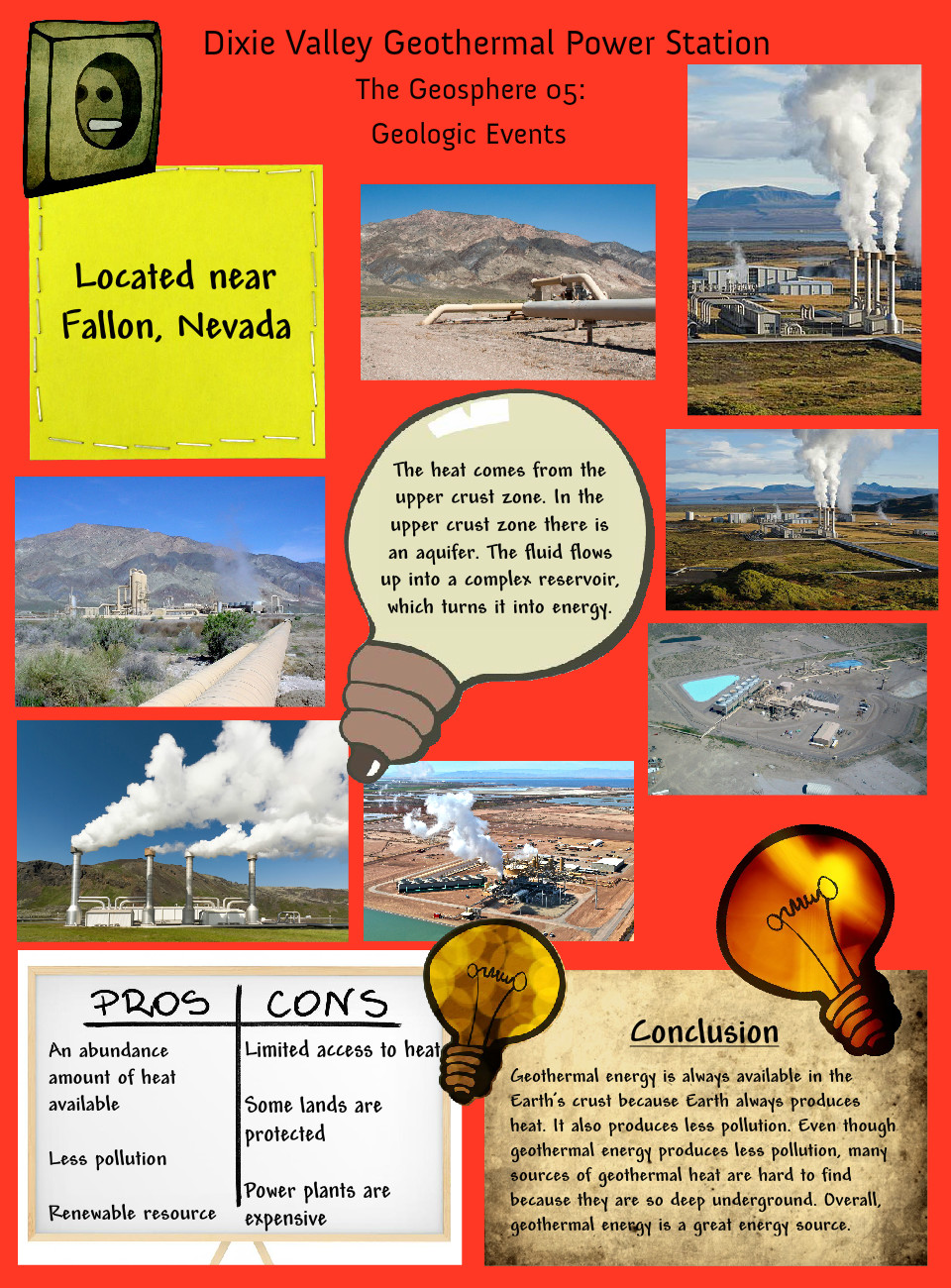 Dixie valley geothermal power station