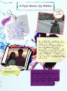About me flyer