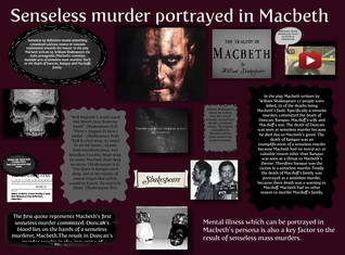 Senseless Murder Portrayed In Macbeth