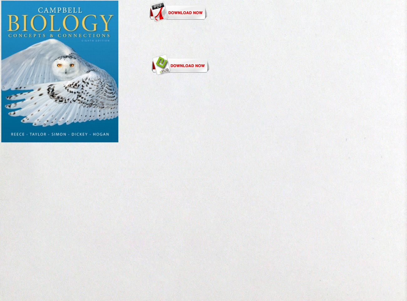 Free Download Pdf Ebook Campbell Biology Concepts Connections