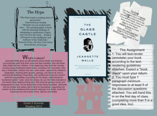 The Glass Castle -Grade 9 Summer Reading