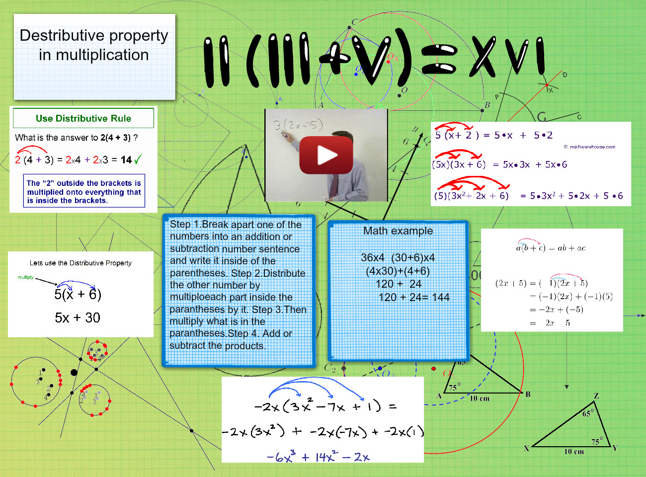 Destributive Property in Multiplication