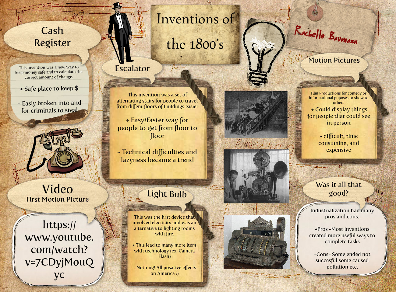 Inventions of the 1800's