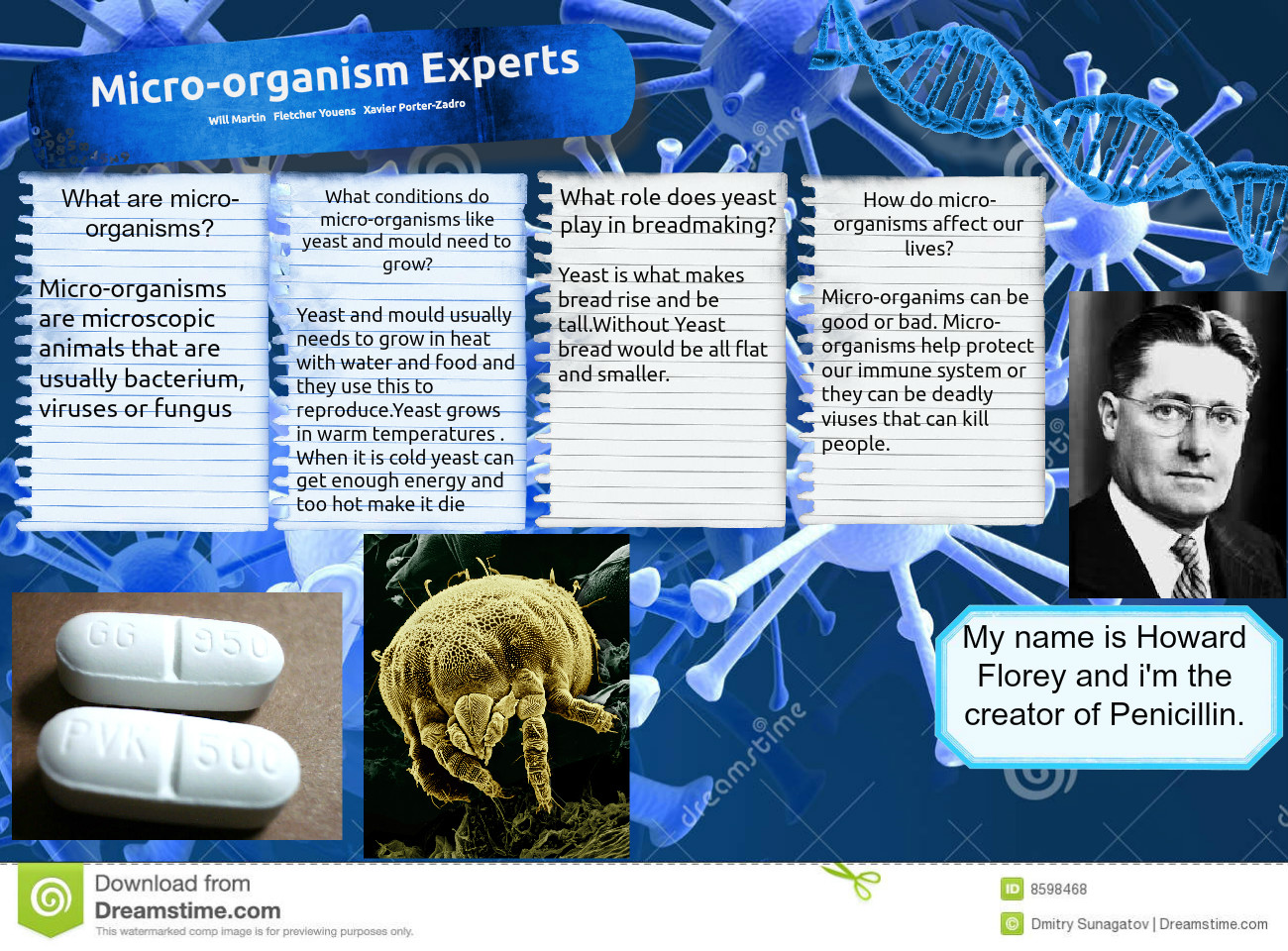 [2015] Will Martin: Micro-organism Experts