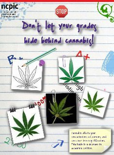 Don't let your grades hide behind cannabis