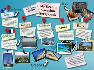 My Dream Travel Scrapbook