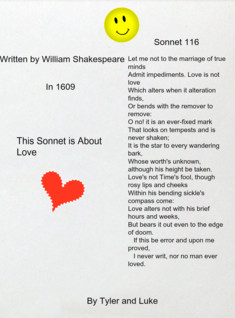 Shakespeare's Sonnet 116