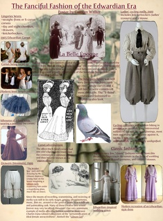 The Fanciful Fashion of the Edwardian Era