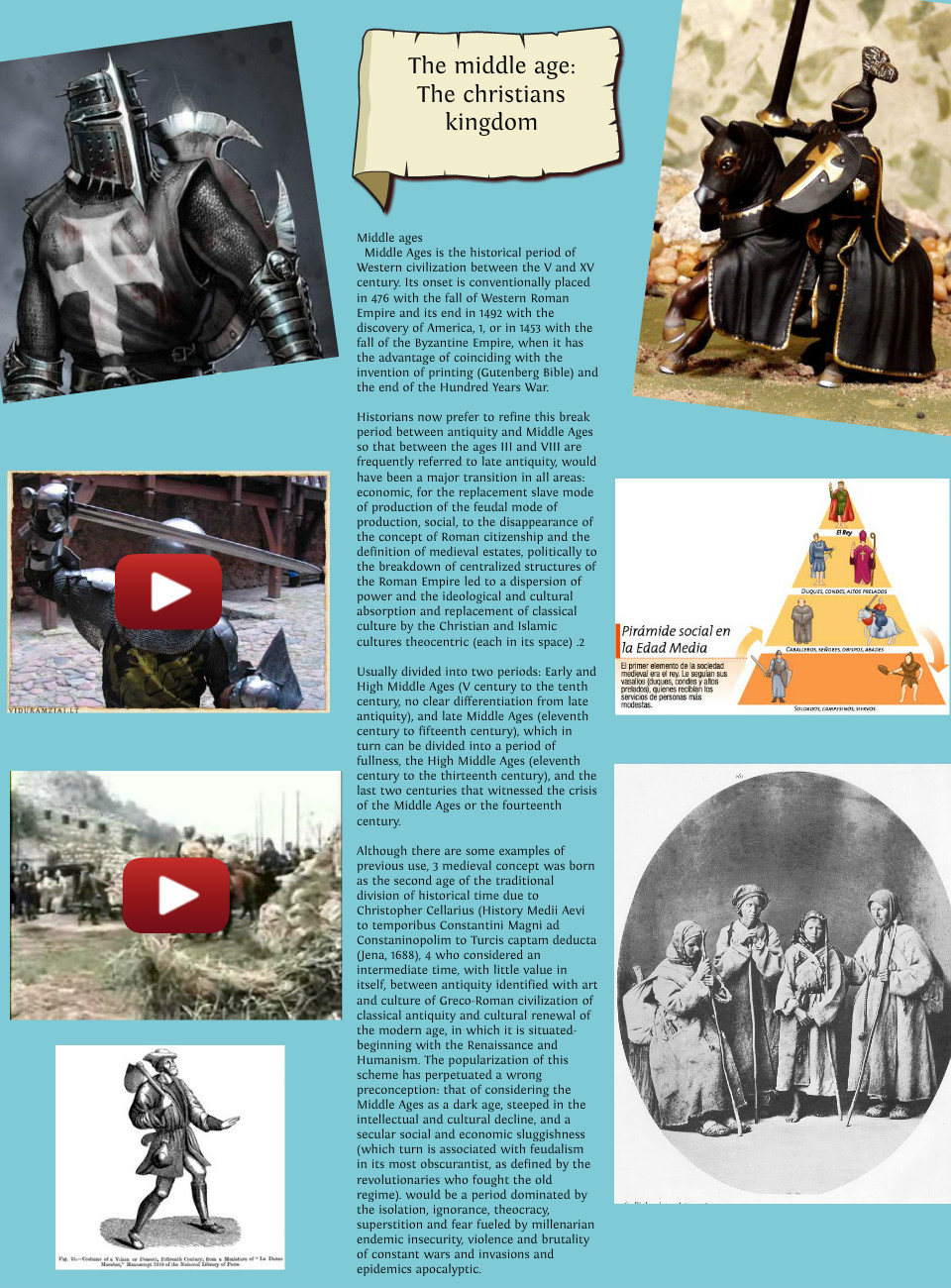 Middle Ages the Christians Kingdom