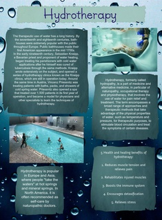 Project: Hydrotherapy